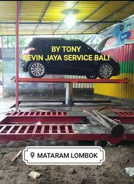 Hidrolik cuci mobil & motor di Kevin Jaya Service Denpasar Bali