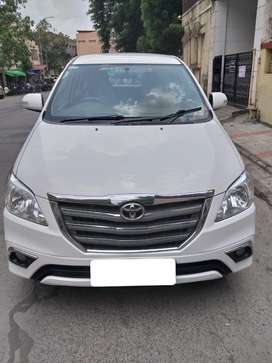 Toyota Innova White Color 2014