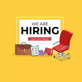 Urgently Staff Required for New Office