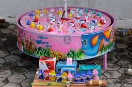 Wahana mainan || Pancingan elektrik ikan