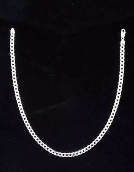 Sterling Silver 925 italy cuban link chain