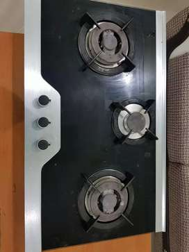 Three burners stove