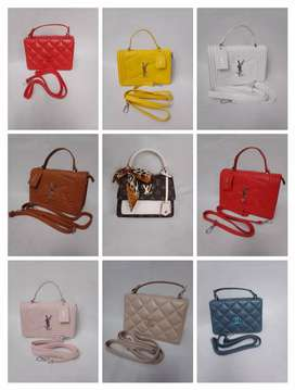 Ladies hand bags and kids shirts(home delivery service only)