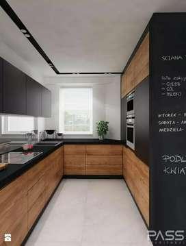 Kitchen Set, Backdrop, Wardrobe, Bed Set Interior mewah dan murah