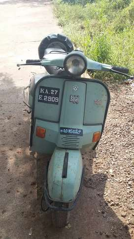 Bajaj  super  scooter