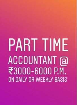 Accountant Available for Part-time