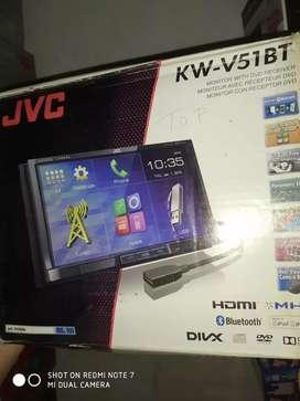 Tape doubledin dvd usb mirrorlink.JVC ( Megah top )