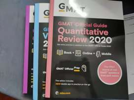 GMAT Official Guide 2020 : Set of 3 books