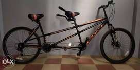 Fantom ,tandem bicycle 1year old double bicycle)