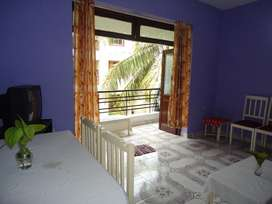 Flat For Rent Near Candolim Beach