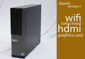 DELL i5 3RD GEN | 1 YEAR WARRANTY | HOME DELIVERY | HDD 500GB | HDMI