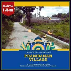 MURAH: Prambanan Village Dekat Hotel Galuh 1 Jt an