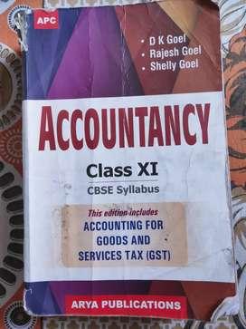 CLASS 11 ACCOUNTANCY APC (D.K.GOEL)