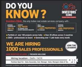 Looking for Sales Professionals