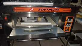 Used Pizza oven, dough mixer, prep table, delivery bag