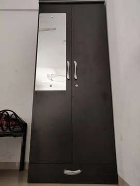 Bed and Cupboard (Wooden) [Best Condition] [2 months used]