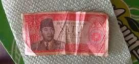Uang 1 rupiah soekarno hatta