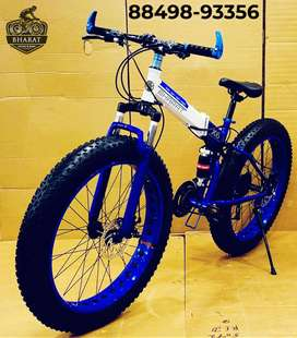 New FOLDABLE FAT TYRE CYCLE , 26*4 INCH WHEELS AND 21 GEARS Panchkula