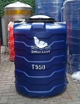 Tangki air plastik 550 ltr garansi 10 thn