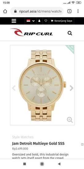 Jual jam tangan ripcurl original