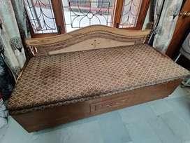 Sofa cum bed with mattress
