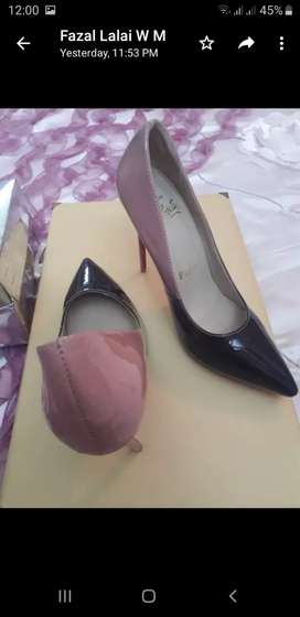 Shoes of woman