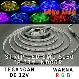 Flexible LED Strip RGB Multi-Colors SMD 5050 DC12V IP33 INDOOR ONLY