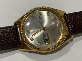 VINTAGE GOLD FILLED SEIKO AUTO GENTS WATCH,1970's.
