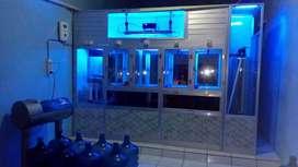 spesialis pemasangan instalasi depot air mineral/Ro