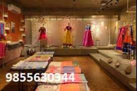 sales staff required in Garments Showrooms Or Toy Showrooms