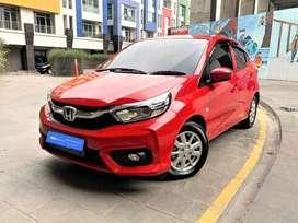 [OLX Autos] Honda Brio Satya 1.2 E Bensin A/T 2019 Merah #Sasmita