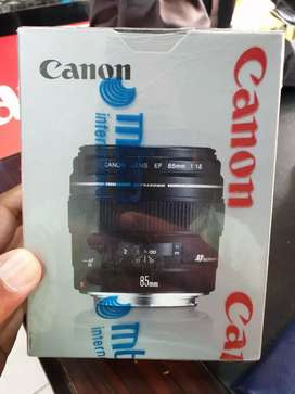 Canon 85mm f1.8 USM On Cash and Easy Instalments.