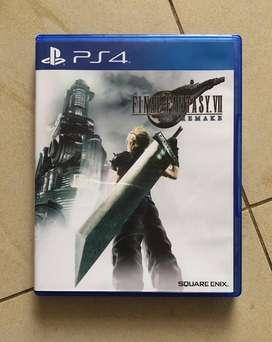 BD PS4 FINAL FANTASY VII / FF 7 REMAKE REG3