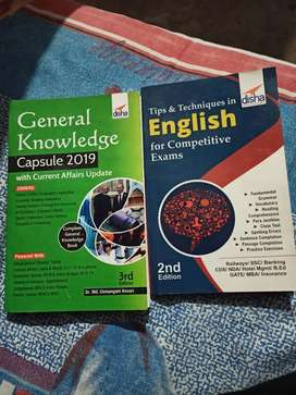 G.k and english book