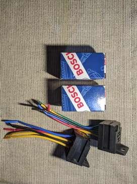 Relay 5 pin 12v 30A & Dudukan Relay (baca deskripsi)