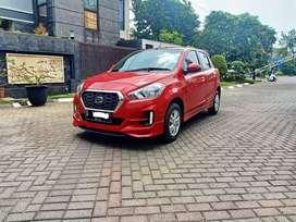 Datsun Go panca T active AT 2019 Merah Matic KM 1000 Perak ,Dp 15 JT