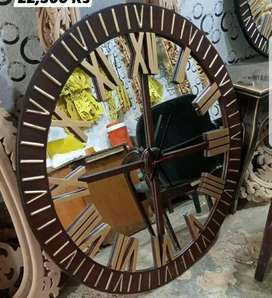 3x3 feet round working clock