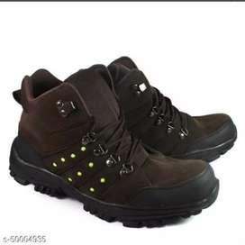 Sepatu safety boots pria crocodile macan ujung besi