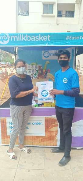 Required 5 male promoter for Milk basket society promotion activity