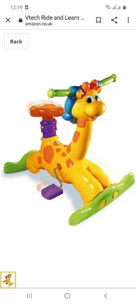 kids vtec Giraffe ride and learn imported