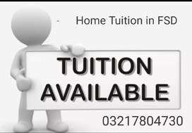 Home tuition at affordable price on your door step.