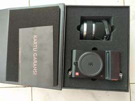 Xiaomi mirrorless yi m1 mulus lengkap