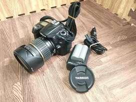 Kamera Nikon D90 Lensa Tamron 17-50mm mantap betul..