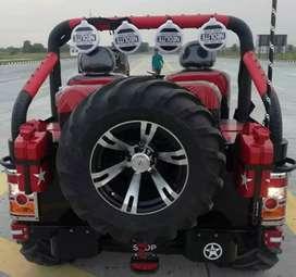 Open skin jeep