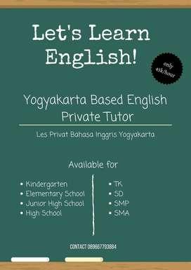 Les Privat Bahasa Inggris Yogyakarta