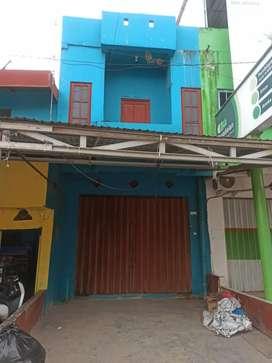 Ruko 2 lantai pinggir jalan Benua Anyar