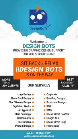 Graphic Designing Services & Digital Marketing