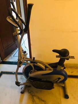 Orbitrac Exercise Bike