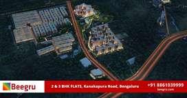 2BHK and 3BHK apartments for sale  in Kanakapura Road, Bangalore