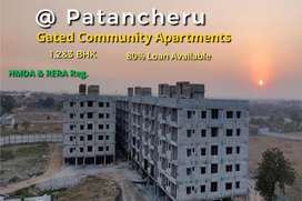HMDA Approved 1,2&3 Bhk Flats for Sale